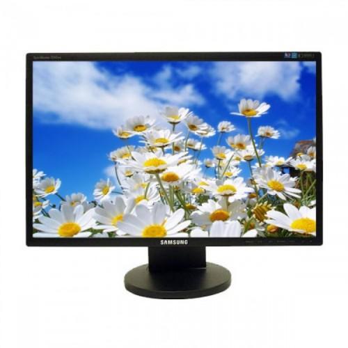 Monitor LCD Samsung 2243BW, 22 inch Widescreen, 1680 x 1050, VGA, DVI, 16.7 milioane de culori, Second Hand