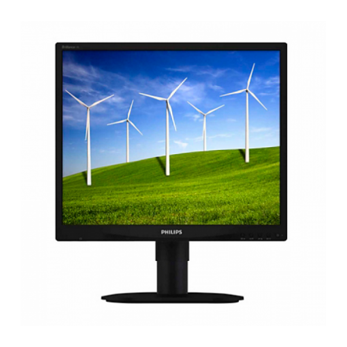Monitor Philips 19B4 LCD, 19 inch, 1280 x 1024, 5 ms, 16.7 milioane, VGA, DVI,