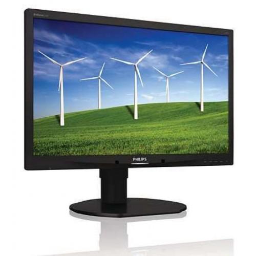 Monitor Refurbished Philips 220B4LPCS, 22 inch, 1680 x 1050, VGA, DVI, Audio, USB