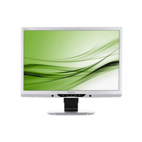 Monitor Philips 225B SILVER, 22 inch, 1680 x 1050, DVI, VGA, 16.7 milioane de culori, 5 ms