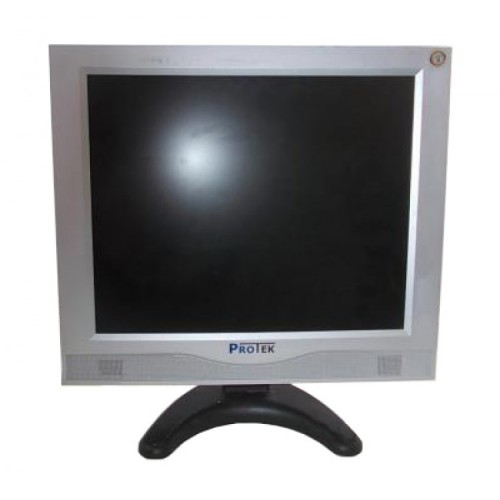 Monitor Protek PT1701, 17 Inch, 1280 x 1024, VGA, Boxe integrate, Second Hand