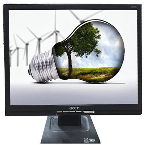 Monitor LCD Acer AL1717, Renew, 17 inch, 1280 x 1024, 16.2 milioane de culori, ca nou, boxe