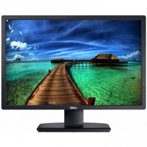 Monitor Refurbished DELL U2412M, LED, Panel IPS, 24 inch, 1920 x 1200 WUXGA, VGA, DVI, 5 Porturi USB, Widescreen