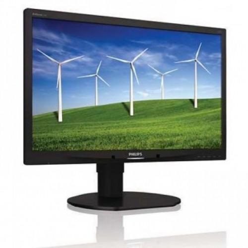 Monitor Refurbished Philips 220B4L, 22 inch, 1680 x 1050, VGA, DVI, Audio, USB