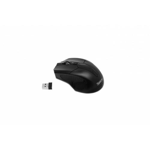 Mouse Wireless Spacer SPMO-W02, 2.4GHz., 4D, 800/1200/1600dpi