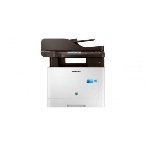 Multifunctionala Laser Color Samsung ProXpress SL-C3060FR, Copiator, Scaner, Fax, 30 ppm, USB, Retea, Second Hand