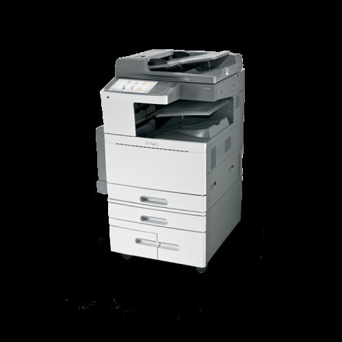 Multifunctionala LEXMARK X950DE, 45 PPM, Duplex, Retea, USB, 1200 x 1200, Laser, Color, A3 / A4, Fara Finisher, Toner Galben Low, Second Hand