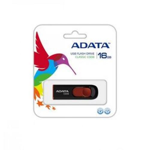 Stick memorie ADATA Classic C008 16GB, Retractabil, Negru