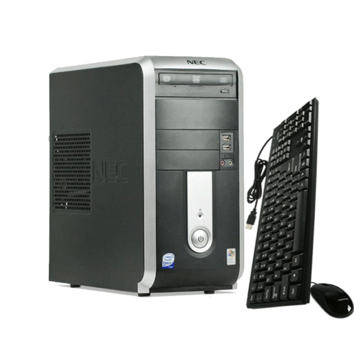 NEC POWERMATE VL260, Core 2 Duo E4500, 2.2Ghz, 2GB RAM, 160GB HDD, DVD-RW