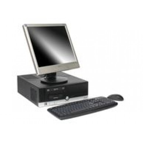 NEC Powermate VL350, AMD Sempron 3200+ 1.6Ghz, 1Gb DDR1, 80Gb, DVD cu Monitor LCD