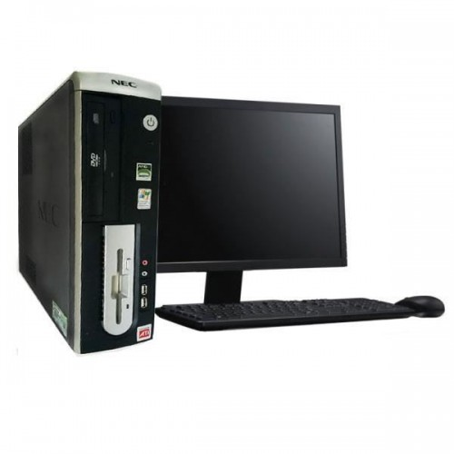 PC SH NEC Powermate VL350, AMD Sempron 3000+ 1,6Ghz 1Gb DDR1, 80Gb, DVD-ROM cu Monitor LCD ***