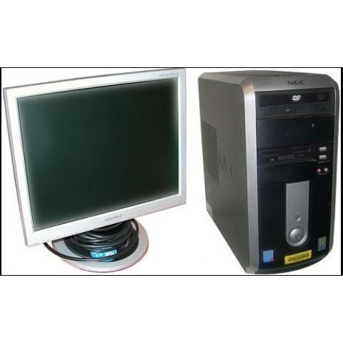 Oferta PC SH NEC ML450 Tower, Intel Pentium D 2,8GHz, 1Gb DDR2, 80GB HDD, COMBO cu Monitor LCD ***