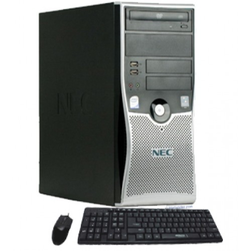 Calculator SH Nec Powermate ML470 Intel Core 2 Duo E6540,  2.33Ghz, 2Gb DDR2, 160Gb HDD, DVD-RW