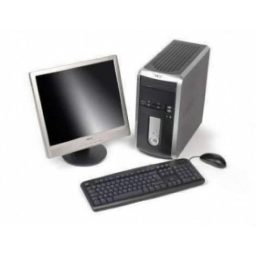 NEC POWERMATE VL260, Core 2 Duo E4500, 2.2Ghz, 2GB RAM, 160GB HDD, DVD-RW cu Monitor LCD
