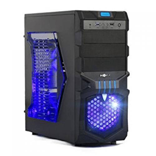 Calculator Gaming Intel Core I5-4460 3.2Ghz, 8GB DDR3, 1TB, GeForce GT 730 2GB DDR3, FARA OPTIC, Windows 10 Pro