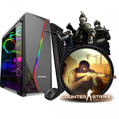 Calculator Gaming Fortnite Tower Intel Core i5-2400 3,40GHz , 16Gb DDR3, 500 GB HDD, Placa Video 2 GB DDR3 GeForce GT6xx, 128Biti- GTA5, CS-GO, Fortnite
