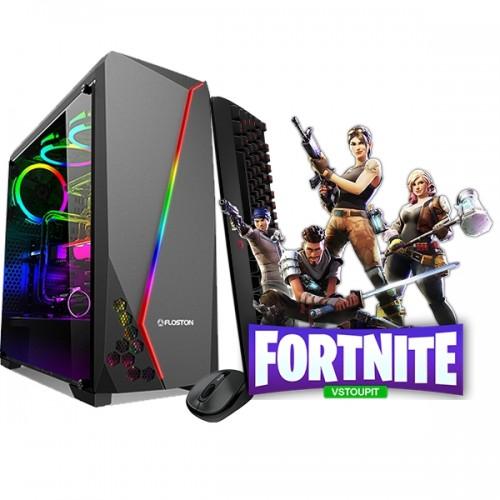 Calculator Gaming Fortnite Tower Intel Core i3-4130 3,40GHz , 8Gb DDR3, 128 GB SSD + 500 GB HDD - GTA5, CS-GO, Fortnite