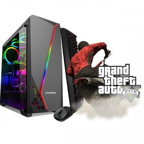 Calculator Gaming Fortnite Tower Intel Core i5-3470 2,90GHz, 8GB DDR 3,128 GB SSD + 500 GB HDD - Fortnite, GTA 5, CS-GO