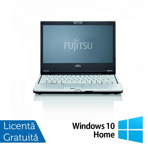 Notebook Refurbished Fujitsu Siemens Lifebook S760 Intel Core i5-560M 2.66Ghz, 4GB DDR3, 160GB SATA, DVD-RW, Wi-Fi, 13.3 Inch + Windows 10 Home