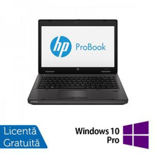 Laptop HP ProBook 6470b, Intel Core i5-3210M 2.5GHz, 4GB DDR3, 320GB SATA, DVD-RW + Windows 10 Pro
