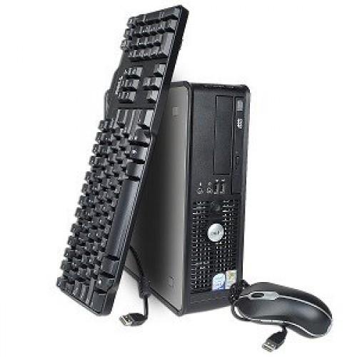 PC SH Dell Optiplex 745, Intel Core 2 Duo E6400, 2.13Ghz, 2Gb DDR2, 80Gb SATA, DVD-ROM, Desktop