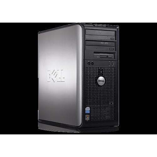 Calculator SH Dell OptiPlex 760 Tower, Intel Core 2 Duo E6300 1.87Ghz,  2GB DDR2, 160GB HDD, DVD-RW
