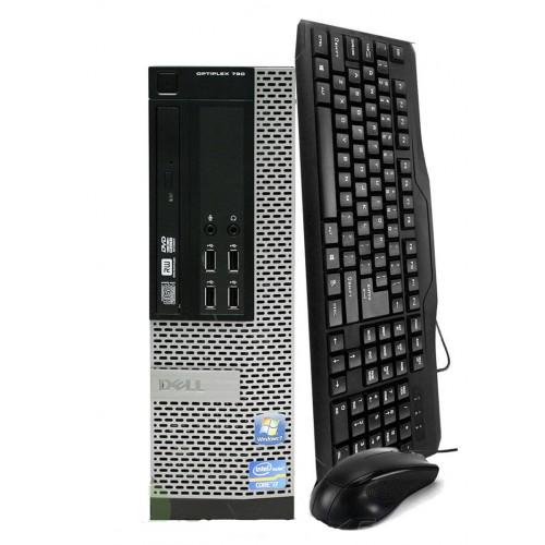 PC Dell OptiPlex 790 SFF Intel i5-2500, 3.30Ghz, 4Gb DDR3, 500Gb SATA, DVD