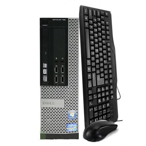PC Dell OptiPlex 790 SFF Intel Pentium Dual Core G860 3.0Ghz, 4Gb DDR3, 250Gb SATA, DVD