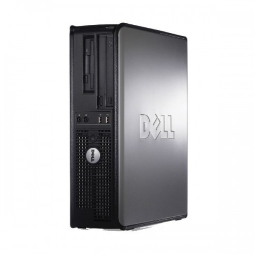 PC Second Hand Dell Optiplex 380 Desktop,  Core 2 Duo E8500, 3.16Ghz, 4Gb DDR3, 250Gb HDD, DVD-RW