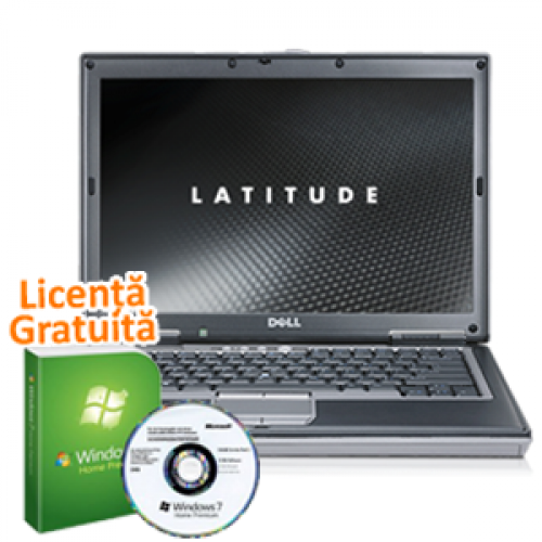 Dell Latitude D630 Refurbished, Intel Core 2 Duo T7250 2.0GHz, 2Gb DDR2, 320Gb SATA, Combo + Win 7 Professional, 36 Luni Garantie
