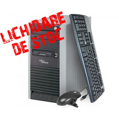 Calculator Fujitsu Scenic P3510 Tower,Procesor Core 2 Duo 2.0 GHz E4400 Memorie 2GB DDR, 160GB HDD,Unitate Optica DVD-ROM