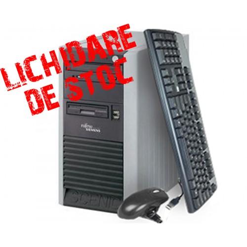 Calculator Fujitsu Scenic P3510 Tower,Procesor Core 2 Duo 2.0 GHz E4400 Memorie 2GB DDR, 160GB HDD,Unitate Optica DVD-ROM