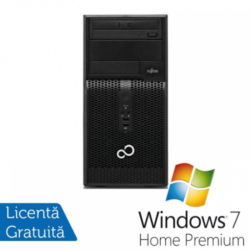 FUJITSU SIEMENS Esprimo P500 MT, Intel Core i3-2100 3.1GHz, 4GB DDR3, 500GB SATA, DVD-RW + Windows 7 Home Premium