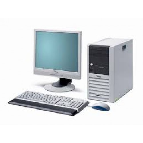 Pachet SH Fujitsu Siemens Scenic P5905 Intel Pentium D, 2.4 Ghz, 2Gb DDR, 80 GB HDD, DVD-ROM, Tower cu Monitor LCD