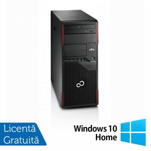 PC FUJITSU SIEMENS Esprimo P710, Intel Pentium Dual Core G2020 2.90GHz, 4GB DDR3, 500GB SATA, DVD-RW + Windows 10 Home