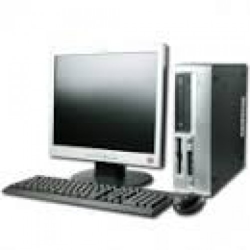 Pachet HP Compaq D530 SFF, Intel Pentium 4 2.8GHz, 1GB DDR, 40GB HDD, DVD-ROM ***