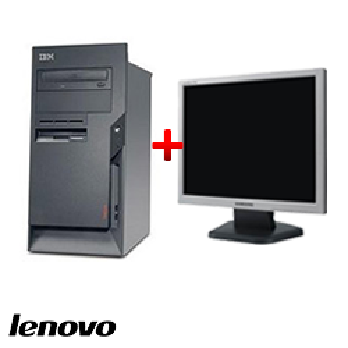 Unitate PC Lenovo ThinkCentre M50 8189, Tower, Pentium 4, 2.8 GHz, 1GB DDR, 40GB HDD, CD-ROM + Monitor LCD ***