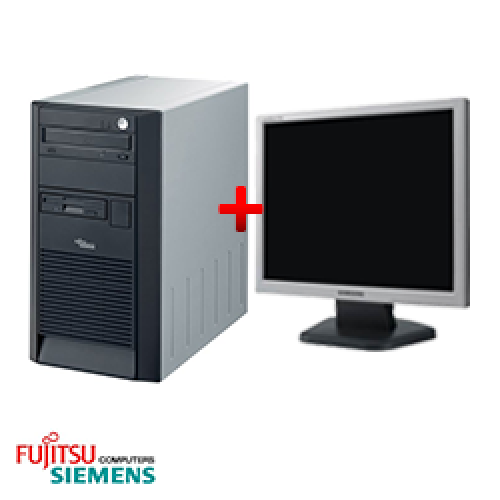 Computer Fujitsu SCENIC Edition X102, Tower, Intel Pentium 4 2.8 GHz, 1GB DDR, 40GB HDD, CD-RW + Monitor LCD ***