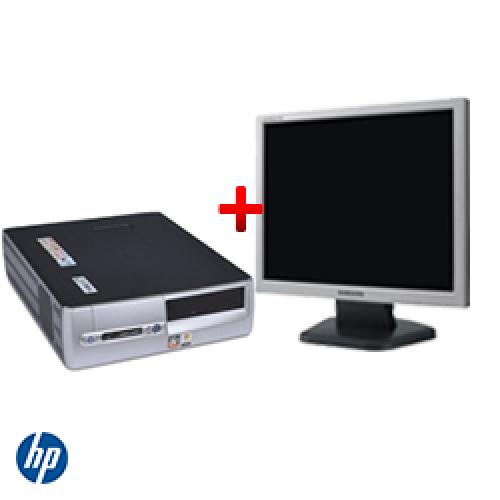 Oferta PC HP DX5150 SFF, AMD Athlon 64 3200+, 1GB DDR, 80GB HDD, CD-ROM + Monitor LCD ***