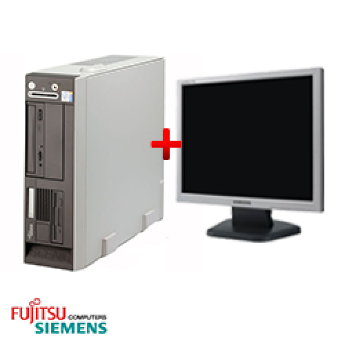 Pachet SH PC Fujitsu Siemens Scenic N600 Desktop Intel Pentium 4 2.8GHz, 1GB DDR, 40GB HDD, CD-ROM + Monitor LCD ***