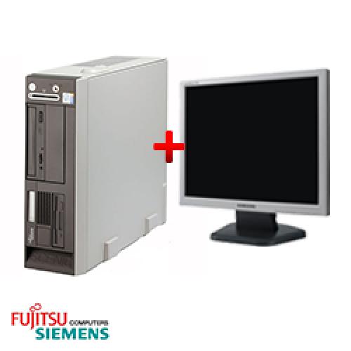 Pachet SH PC Fujitsu Siemens Scenic N600 Desktop Intel Pentium 4 2.8GHz, 1GB DDR, 40GB HDD, DVD-ROM + Monitor LCD ***