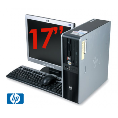 Super Pachet PC HP DC5750 SFF, Procesor AMD Athlon 64 3800+ , 1Gb RAM DDR2 Memorie ,HDD 80Gb, Unitate optica DVD-ROM + Monitor LCD 17 Inch ***