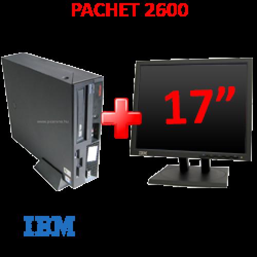 Pachet IBM ThinkCentre P4 Desktop, 3Ghz + Monitor LCD 17 inci