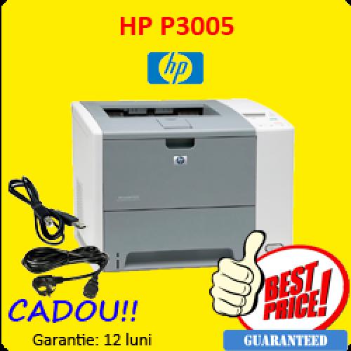 Pachet promotional 10 imprimante laser monocrom Hp P3005