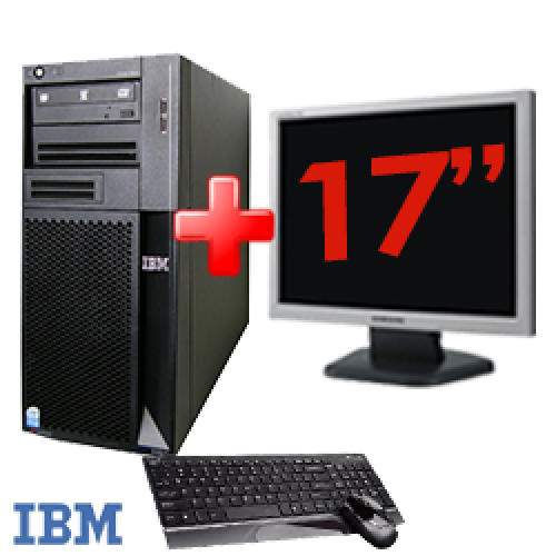 Pachet IBM Thinkcentre X-Series 206M,Procesor Intel Pentium 4 3.2Ghz, 2Gb Memorie , 160Gb HDD, DVD-ROM + Monitor LCD 17inch ***