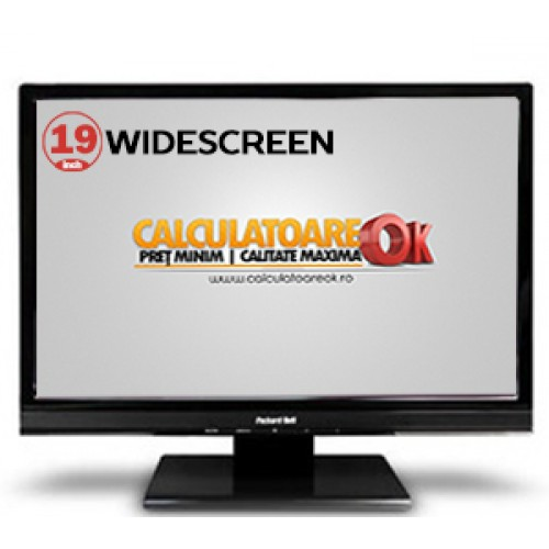 Monitor SH Packard Bell Viseo 190WA, LCD 19 inch, Widescreen, 1366x768, VGA ***