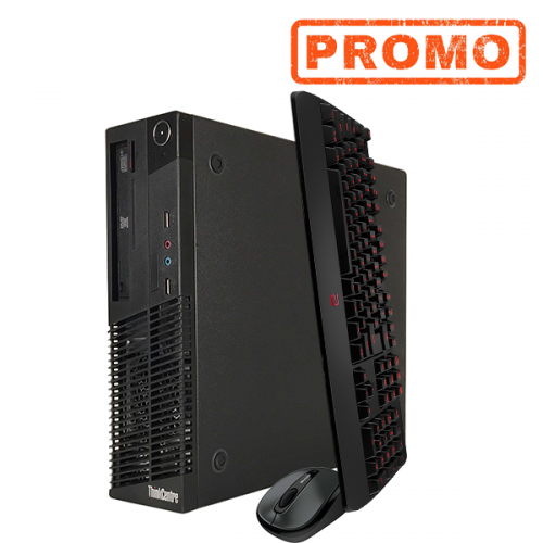 PC Lenovo M72E, Intel Core i3-3220 3,30Ghz, 4GB DDR3, 250GB HDD Sata, DVD