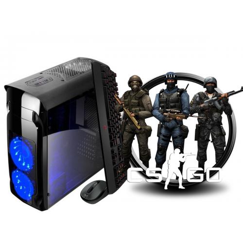 Calculator Gaming Fortnite Tower Intel Core i3-4130 3,40GHz , 8Gb DDR3, 500 GB HDD Placa video GeForce GT710 2Gb DDR3 64Bits - GTA5, CS-GO, Fortnite