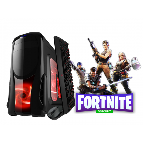 Calculator Gaming Fortnite Tower Intel Core i3-4130 3,40GHz , 8Gb DDR3, 500 GB HDD Placa video Radeon R7 4Gb DDR5 256 Bits - GTA5, CS-GO, Fortnite