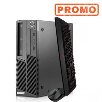 Calculator LENOVO M90p Desktop, Intel Core i5-650 3.2 GHz, 3GB DDR3, 250GB SATA, DVD